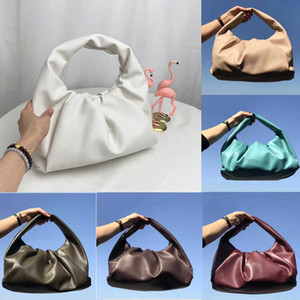 2020 The shoulder pouch womens bags new Fashion Tote bags genuine leather handbags purse The Pouch women Clutch Cloud Bag High quality 41gN#