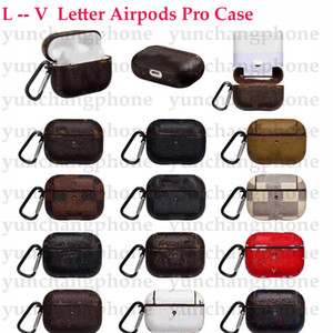 Для Apple Airpods Pro Case Дизайнерские наушники Чехлы для AirPods Case Luxury PU Cover с Anti Toble Hook Clasp Bookchain