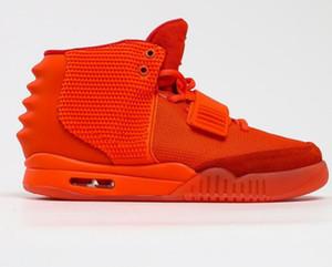 Meilleur Kanye West 2 Chaussures de basketball pour hommes Bottes locales Boutique en ligne Sport 2020 chaussures Training Baskets Baskets Baskets Chaussures Kingc