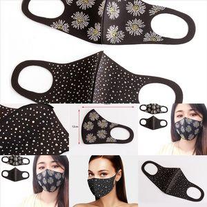 L9Ж моющиеся лица маски для моды с женщинами FaceAmask DesignerFace Mashs Chinestone ткань покрытия