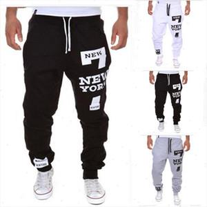 Fashion Biker Joggers Slim Fit Skinny Sweatpants Harem Pants Men Hip Hop Swag Clothes Clothing high street Gray Black Kanye West