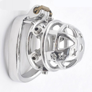 Spiked Cock Cage Erect Denial Vicious Male Chastity Device Brutal BDSM Stimulate Screw Sissy Penis Ring Tough Sex Toys