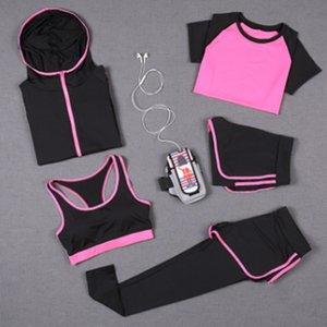 2020 Nouvelle costume de yoga pour femmes en automne Kit de sport automne Matin de costume de remise en forme