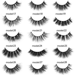 20 Pairs New 3D Mink False Eyelashes Natural Wispy Fluffy Eyelashes Handamde Lashes Extension Makeup Tools Dropshipping Free Shipping 2021