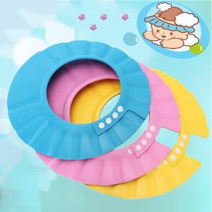 1 шт. Детский шампунь душевая шапка мыть волосы мягкая пена регулируемая ванна для ванны защищать крышку для детей детей дети шампунь шампунь