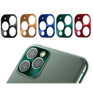 iPhone 11 Pro Max Metal Alloy Camera Len Protector 커버를위한 카메라 렌즈 보호 필름 iPhone 11 프로 최대 카메라 커버