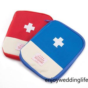 DHL Портативный чрезвычайным Survival сумка Mini Family Kit Автомобильные аптечки Главная медицинская сумка Открытый Спорт Путешествия Первая помощь сумка FY6188