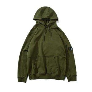 cp company 19SS CP Company Mens Womens Designer jaqueta Hoodies Moda tops de manga longa Hoodie do Zipper Asiático Tamanho M-2XL