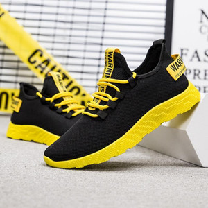 LOOZYKIT Erkekler Sneakers Casual No-slip Erkekler vulcanize Aşınmaya dayanıklı ayakkabı tenis yukarı Nefes Erkek Hava Mesh Lace Ayakkabı