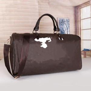 2021 Frauen Männer Taschen Neue Mode Gedruckt Wolke Designer Männer Frauen Reisetasche Duffle Bag, Leder Gepäck Handtaschen Große Kapazität Sporttasche