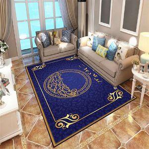 새로운 뜨거운 판매 스타일 풋 러그 클래식 고급스러운 거실 카펫 침실 카펫 북유럽 문 매트 패션 거실 침실 무료 배송