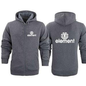 Autumn and winter new men's Hoodie Sweatshirt men's high quality element letter printing long sleeve fashion men's zipper HoodieX1121