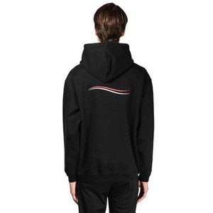 20SS carta impressa onda encapuçado moletom simples rua simples casual manga longa pulôver homens mulheres ao ar livre hoodies suéter hfymwy413