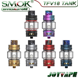 SMOK TFV18 Sub Ohm Tank 7.5ml Compatible with TFV18 Meshed Coil TFV16 Mesh Coils DL & MTL Vaping for Morph 2 Mod & Kit
