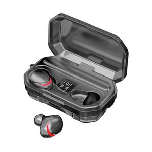 M15 TWS Bluetooth Headphones Wireless Earphone Stereo Headset LED Display Bluetooth 5.0 Headset with Retail Box