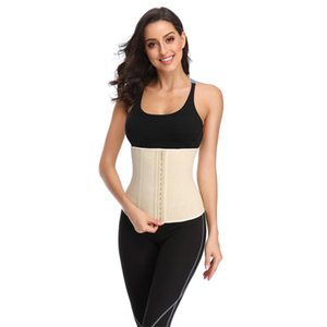 2020 popular shaper girdles colombian latex waist cincher steel bone waist trainer cincher