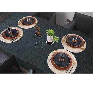 Tablero a prueba de aceite a prueba de agua Restaurante Inicio Restaurante Durable Tabla de café Cubierta Tide Impreso Anti Scalding Picnic Comedor Mesa de mesa