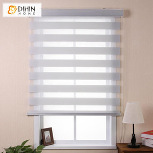 New Arrival Luxury High Quality Double Layer Zebra Blinds Roller Blind Window Curtains Free Shipping