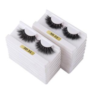 THINKSHOW Wholesale 3D Real Mink Eyelashes Natural Long Dramatic Curly Lashes Handmade Soft False Eyelashes Fluffy Lashes