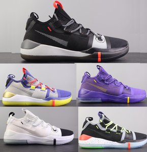 Mamba Zk1 Cuir de la plus haute qualité 7-12 Protro Erica Designers Sneakers Hommes Chaussures Sports Running Basketball Chaussures Plate-forme All Star MVP