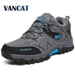 Brand Men Winter Snow Boots Warm Super Men High Quality Waterproof Leather Sneakers Outdoor Male Hiking Boots Work Shoes 39-47 201124