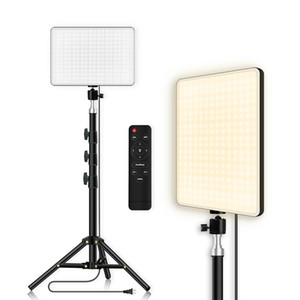 Yingnuost LED Lighting Panel Remote Control Video Lamp with Stand for Photography Studio Photo Filming Live Streaming On Sale