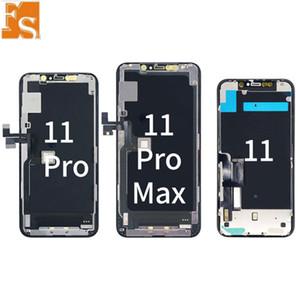 أجزاء إصلاح OEM آيفون 11 برو ماكس 11 برو 11 XS X الأصلي شاشة OLED تجميعها مع لطيفة اللمس العلامة التجارية الجديدة مجانا دي إتش إل مجانا