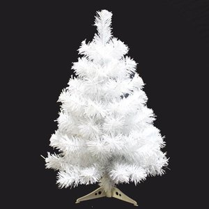 60 90 CM Encryption White Tree Mini Artificial Christmas Plastic Decoration Family Christmas Decoration Ornament Gift