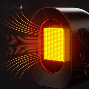 CAHOT Mini Portable Electric Heater Desktop Heating Warm Air Fan Home Office Handy Air Heater Bathroom Radiator Warmer Fan