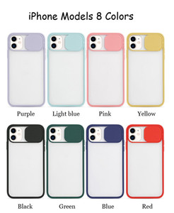 Slide Camera Cover CamShield Lens Protection Case for iPhone 12 Mini 11 Pro XS Max XR 6 7 8 Plus Note20 S20 Ultra