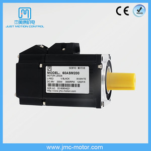 JMC 3 Phase Low-cost Electric Motor High-performance High-power 200W 3000RPM 36V AC Servo Motor for CNC Kit Cutting Machine 60ASM200