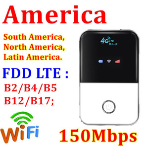 4G LTE Cep WiFi Router Araba Mobil Wifi Hotspot Kablosuz Geniş Bant MIFI Unlocked Modem Router 4G ile SIM Kart Yuvası