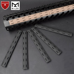 5PCS BCM M LOK RAIL COVER 패널 키트 MLOK 무료 플로트 HandGuard Airsoft 140 * 16mm