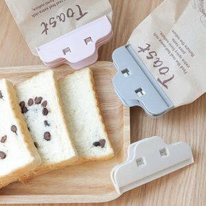 Seal Clips Colored Kitchen Food Bag Clips 3 Colors Fresh Food Bag Clips Food Storage ABS Material Durable Moisture PPD3444