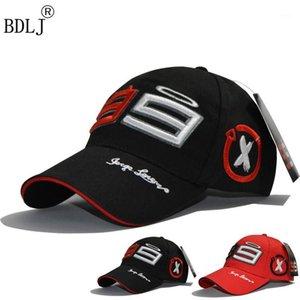 Gorras de bola BDLJ llegaron Motocicleta de verano Moto Repsol Wing 99 gorra de béisbol Snapback Motocross Race Ajustable Oudoor Caps1