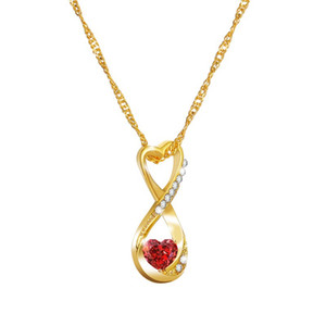 Austrian crystal Diamonds Love Heart Pendant Statement Necklace Fashion Class Women Girls Lady Elements Jewelry