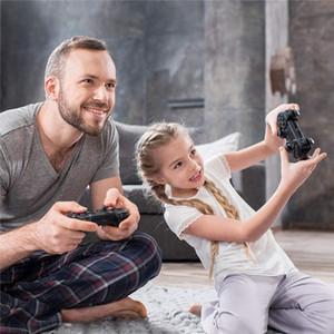 جهاز تحكم لعبة Wireless PS4 لوحدة التحكم ل PlayStation 4 / Pro / Slim / PC وأجهزة الكمبيوتر المحمول مع الاهتزاز المزدوج وظيفة الصوت DHL