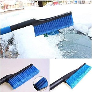Snow Brushes, 2 in 1 Retractable Ice Scraper for Car Windshield Snow Removal, Extendable 32 Inches Snow Shovel for Car, SUV, Trucks Windows