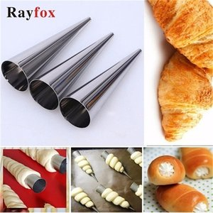 5Pcs lot Baking Tools For Pastry Cake Mold Roll Spiral Baked Croissants Kitchen Accessories Christmas Party Cookie Home Gadget
