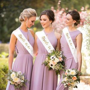 Decoração Noiva Doce Nupcial Conjuntos Casamento Favores Para Ser Cetim Sash para Bachelorette Hen Party Fit Mulheres Vestido 156 * 9.5cm