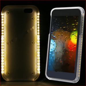 الوهج ضوء الهاتف القضية لسامسونج s10 s9 s8 plus selfie case صورة ملء ضوء ل IP 11 Samsung S7 S6 حافة