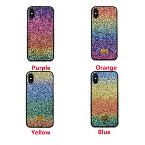 Bling Rhinestone Diamond Glitter Cover mobile phone shell protection Case For iPhone Xsmax xr xs 8 7 Plus Bling Cases