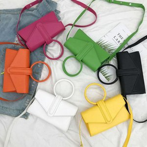 Hot Women's PU Leather Crossbody Bag Magnetic Buckle Handbag Simple Shoulder Bag Ladies Messenger Crossbody Shoulder Tote