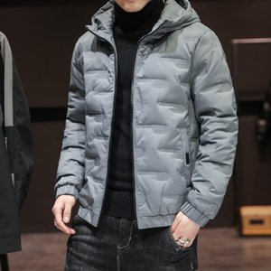 Boutique new cotton padded men's winter Plush thickened Korean student's coat winter wear men's warm down cotton padded jacket