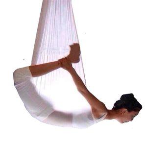 Aerial Yoga Hammock 5M Elasticity Swing Multifunction Anti-gravity yoga training Belts Z1125
