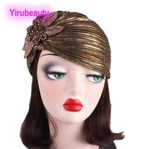 Nuevo estilo Noble Bronceing Pliegue Indian Hat Jewelry Accessories Turban Hat