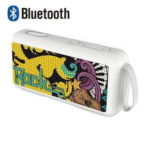 Wireless Blueseth Altoparlante Bass Stereo Subwoofer Subwoofer Super USB / TF Card HiFi Sound Deep Outdoor Impermeabile Portable Altoparlante portatile