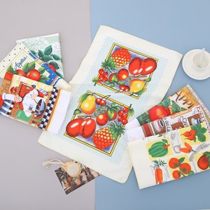 Dishcloth, high quality kitchen towel, microfilm, absorbent, colorful and shiny, 5 units per pack