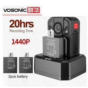 20 ore di registrazione lunga standby H.265 UHD 1440P Body Body BODY Camera 1296p Security Recorder Video DVR Sicurezza Pocket Cam