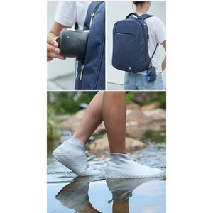 High Quality Rain Sile Boots Waterproof Rubber Boots Non-slip Water Wear Resistant Shoes Cover Rainy Day For Men A bbyJgn